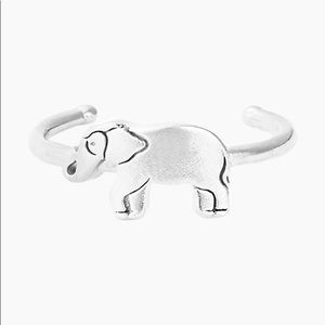 Alex and Ani Elephant Adjustable Ring - SILVER